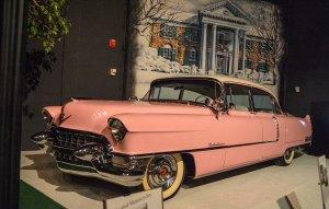 Glady's pink Cadillac