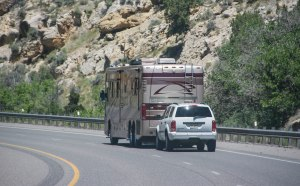 Take your RV and your car at the same time!