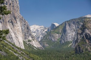 Tunnel View with Half Dome