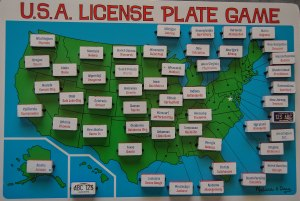 Licence Plate Game 1a