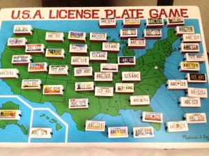 The new Licence Plate Game