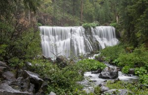 McCloud Middle Falls