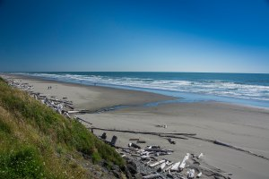 One of Oregon's beautiful beaches