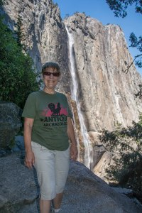 Upper Yosemite Falls - I'm feeling a lot better now!