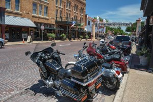 Stockyards Hotel and Bikes 1a