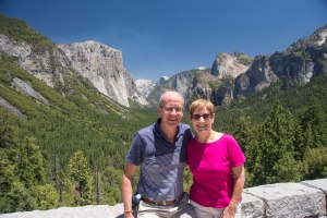 Us at Tunnel View