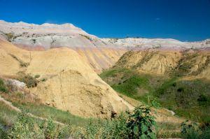 The Badlands Yellow Mounds Overlook