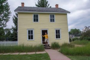 Buffalo Bill's boyhood home