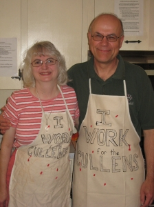 Susan and Bill (owners of 'The Cullen House)