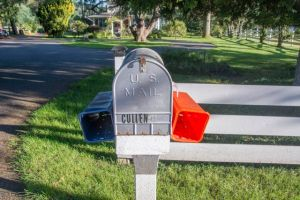 The Cullen mail box