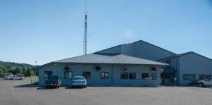 Charlie's Police Station in Forks