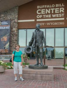 Me outside the Buffalo Bill Historic Centre