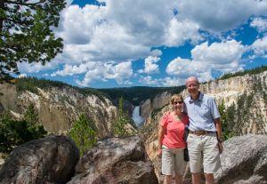 Us at Grand Canyon of Yellowstone