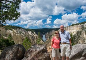 Us at Grand Canyon of Yellowstone