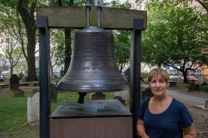 The 'Bell of Hope' at St. Paul's Chapel