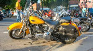 A Harley Davidson