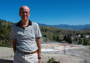 Si at Mammoth Hot Springs
