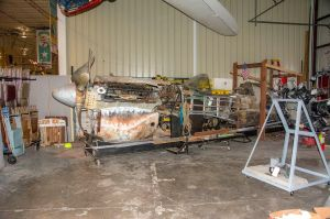 Restoration project at the Curtiss Museum