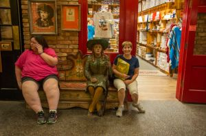 Me at the Wall Drug Store (I'm on the right!!)