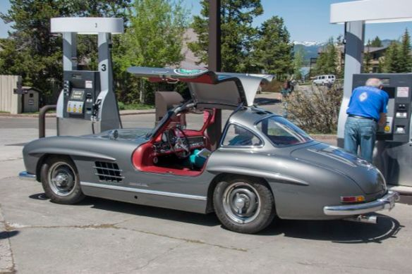 Historic Mercedes Gull Wing