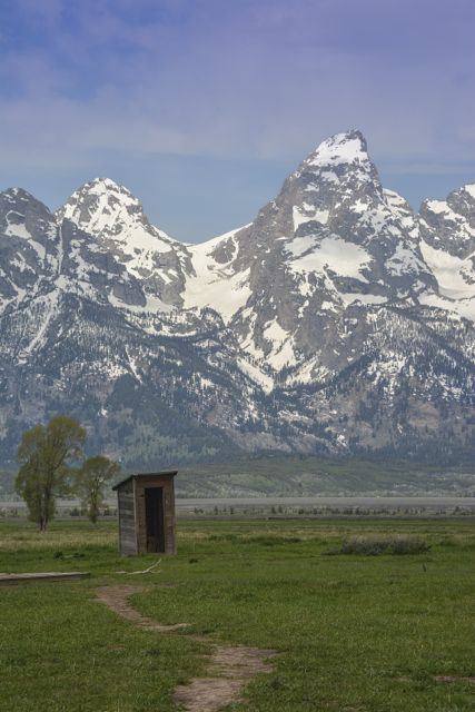 Mormon Row Outhouse
