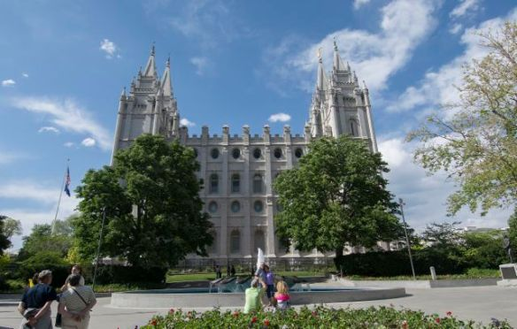 Mormon Templea