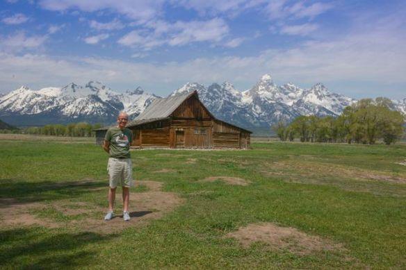 Simon at the John Moulton Barn