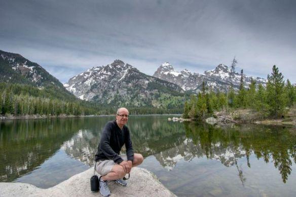 Simon at Taggart Lake