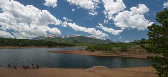Panorama shot of Crystal Reservoir