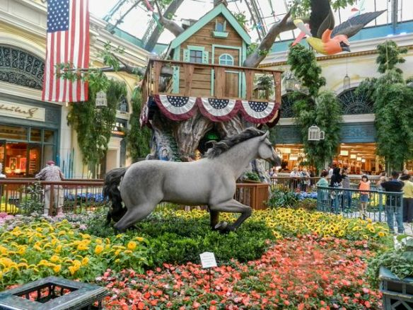 The Bellagio Atrium