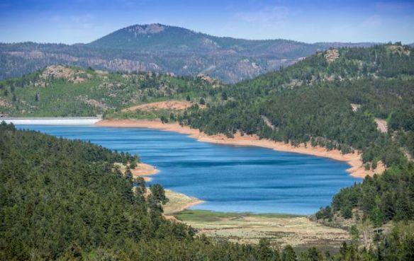 Crystal Reservoir on Pikes Peak Highway