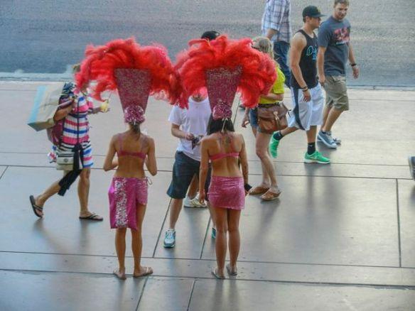 Las Vegas show girls