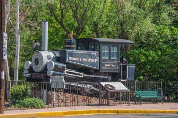 Manitou's original cog railway