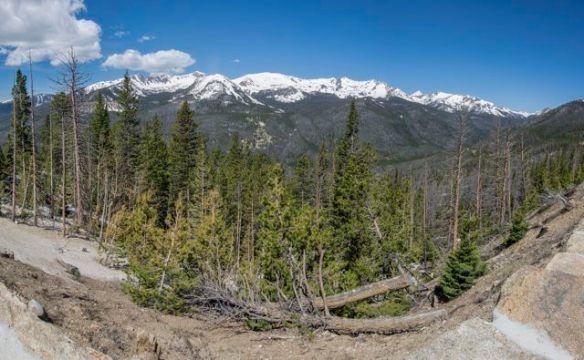 Rocky Mountain National Park Parorama