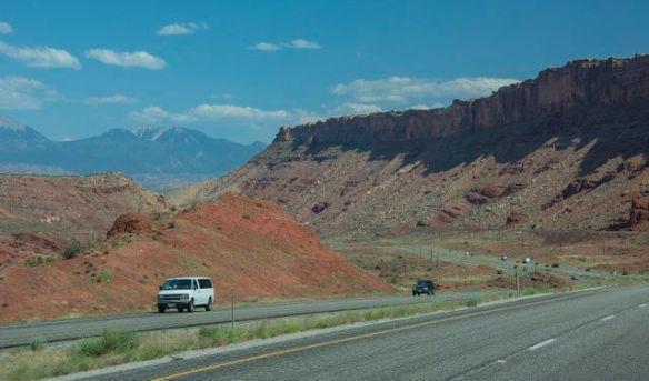 Entering Moab