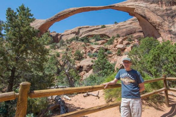 Si at Landscape Arch