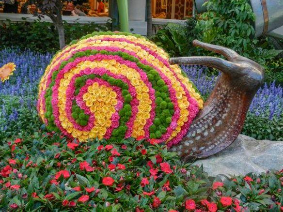Snail flowers in the Bellagio Atrium
