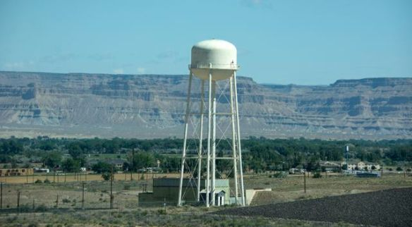 Water Tower on the road from Moab to Las Vegas