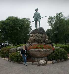 Minuteman at Battle Green