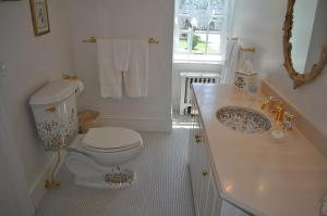 Our bathroom with whirlpool tub and shower