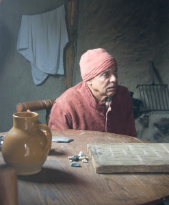 An inhabitant of Plymouth Plantation in the year 1627