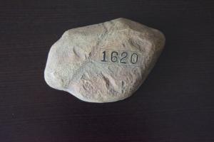 Plimoth Rock 1620