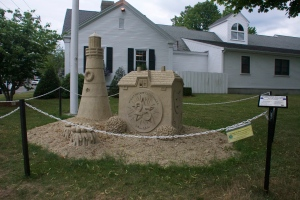 Sand Structures in Chatham