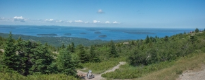 Cadillac Mountain in the sunshine!