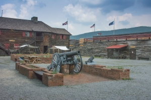 Inside Fort William Henry