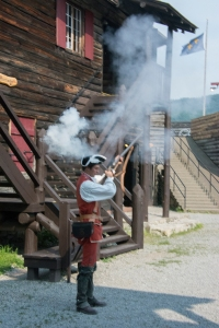 Musket Shot at Fort William Henry