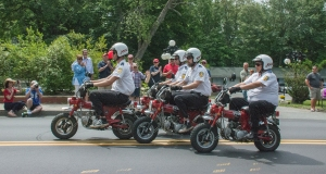 Shriners at the parade