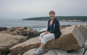 Sand at Acadia Sea Shore