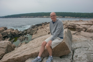 Si at Acadia Sea Shore