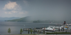 Storm on Lake George